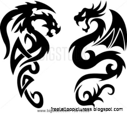 Dragon Tatoos Stock Vector amp Stock Photos  Bigstock