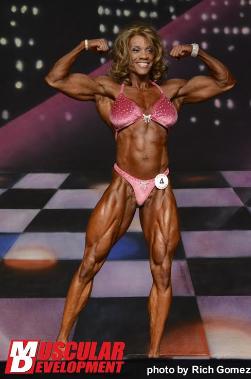 Kim Buck Female Muscle Bodybuilder Fitness Blog
