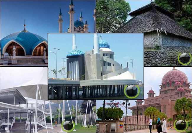 10 Masjid Terunik di Indonesia dan Diberbagai Belahan Dunia