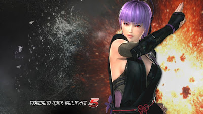 Ayane Dead or Alive 5 Wallpaper