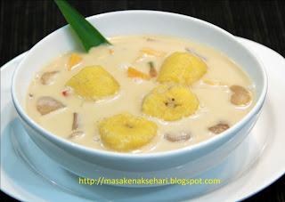 resep kolak pisang lengkap