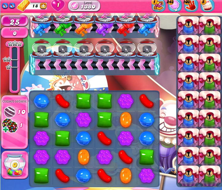 Candy Crush Saga 1380