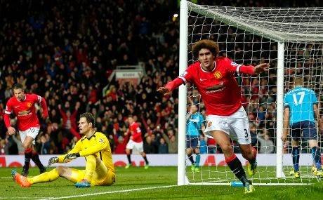 Liga Inggris : MU 2-1 Stoke City