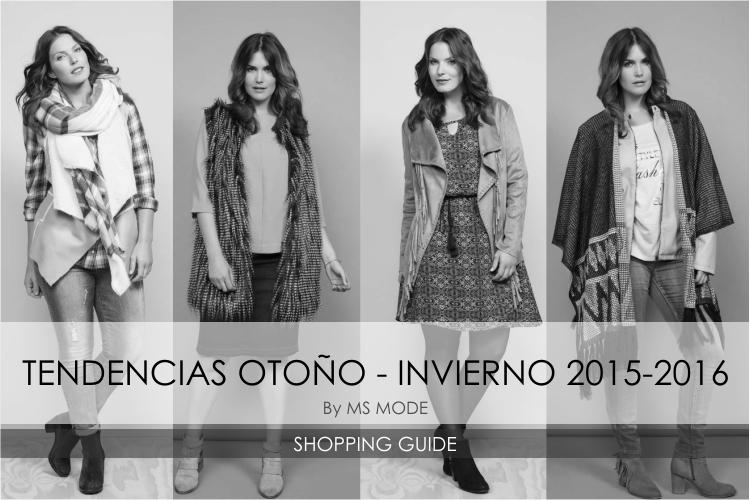 Tendencias  Otoño - Invierno 2015-2016 by Ms Mode