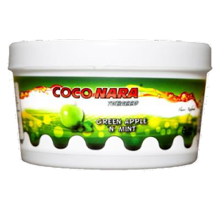 COCO-NARA 'GREEN APPLE N MINT' FLAVOR HOOKAH SHISHA TOBACCO