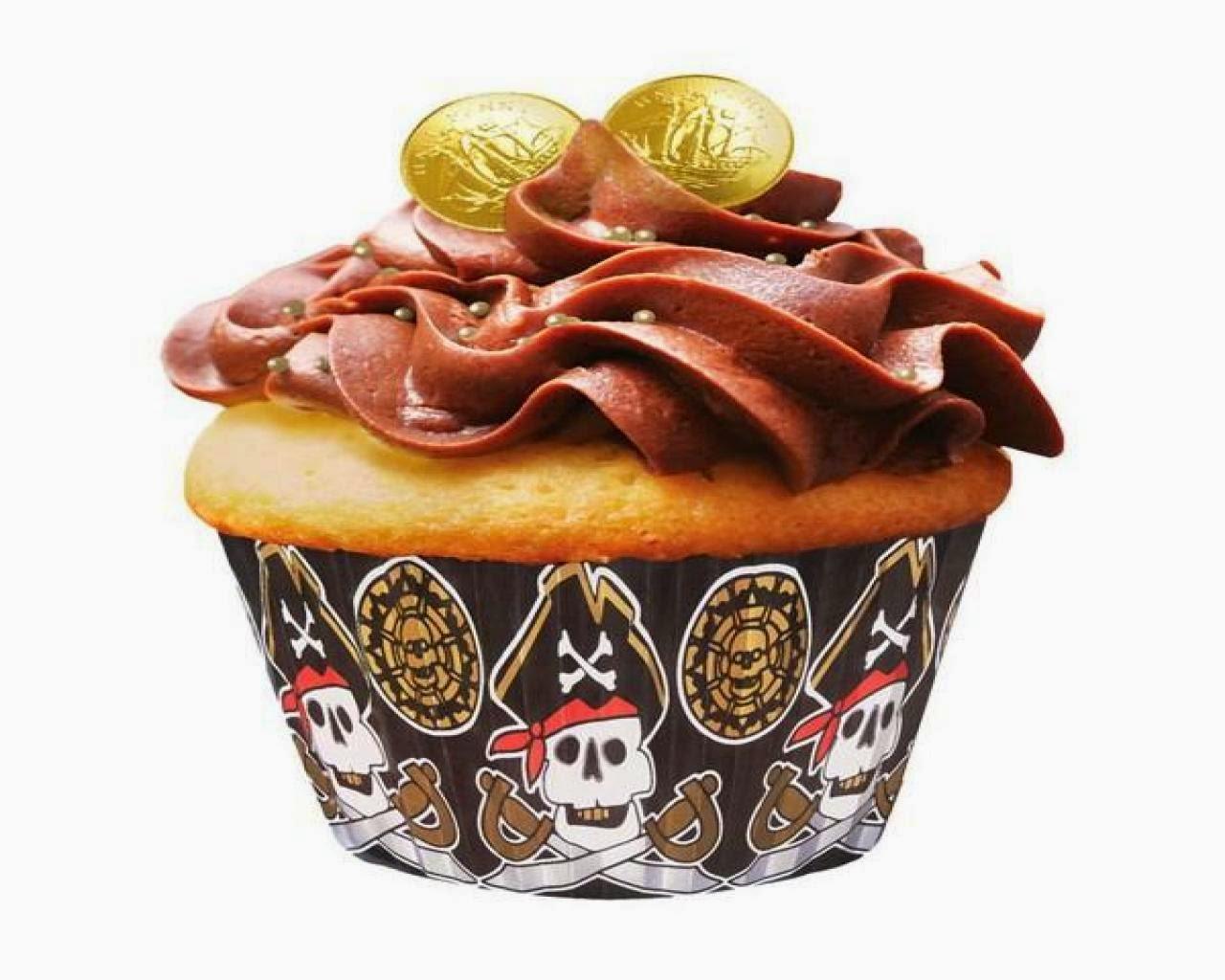 Cupcakes Piratas del Caribe, parte 1
