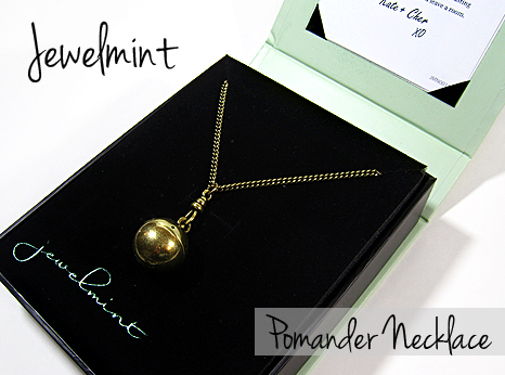 jewelmint pomander pendant