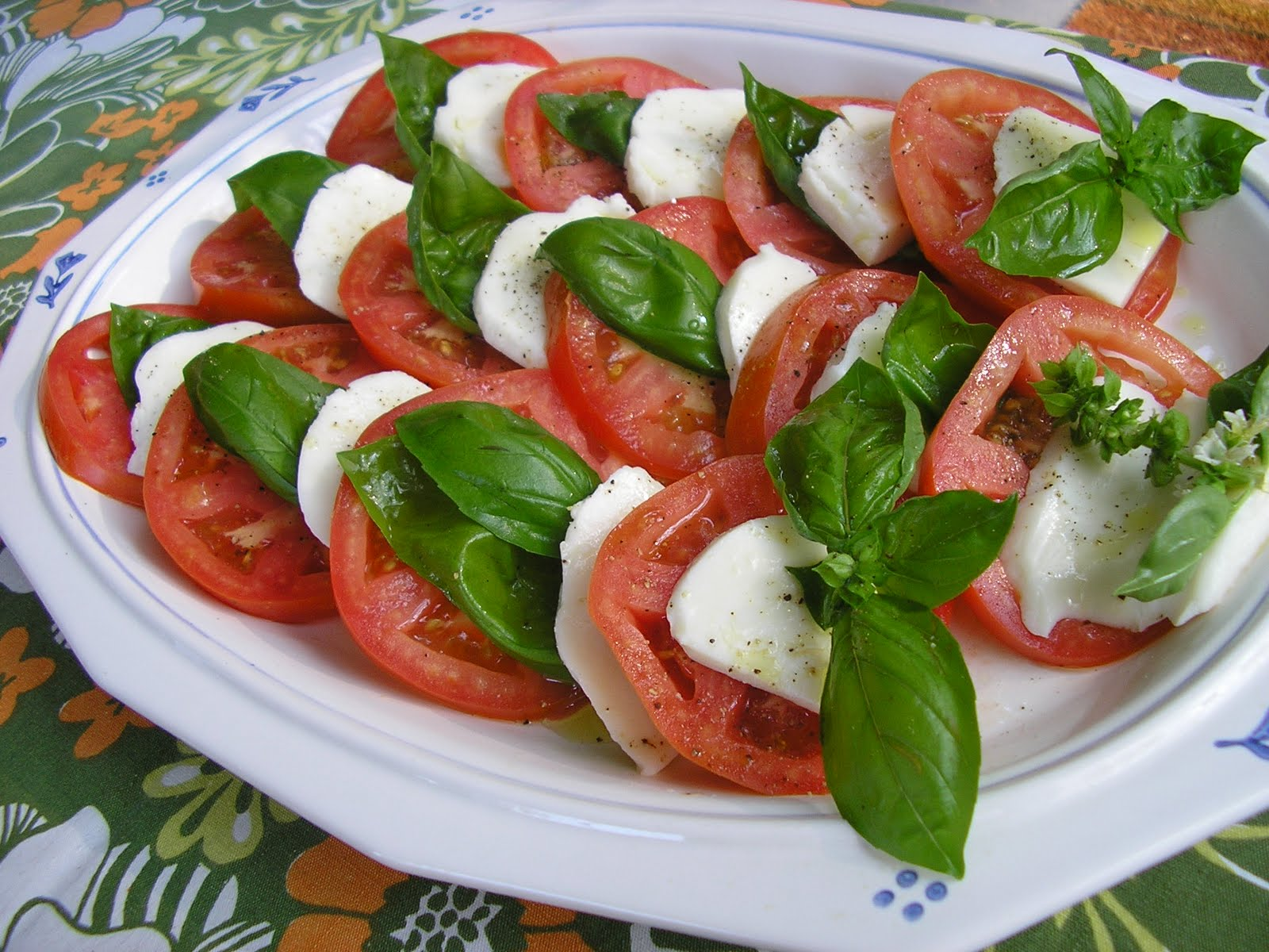 Fatback and Foie Gras: Caprese Salad Recipe