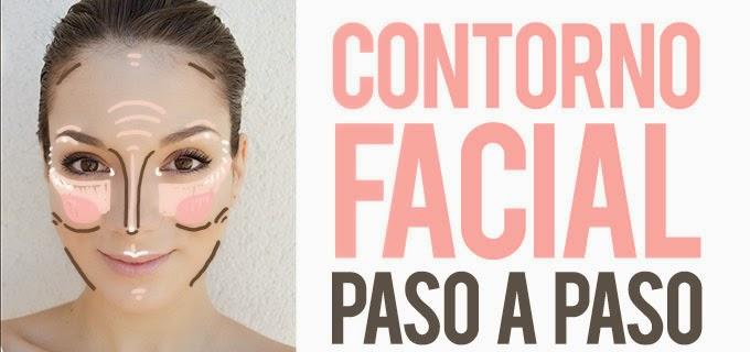CONTORNEAR EL ROSTRO PASO A PASO