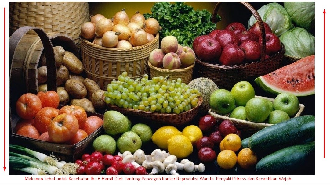 Makanan Sehat untuk Kesehatan Ibu  Hamil Diet  Jantung Pencegah Kanker Reproduksi Wanita  Penyakit Stress dan Kecantikan Wajah