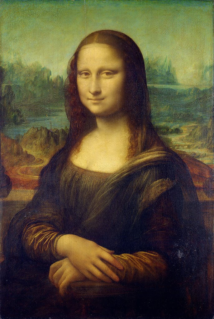 Lego Artwork by MARCO SODANO - FunnyMadWorld Da Vinci Mona Lisa