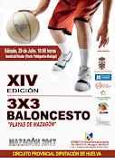 """XIV EDICIÓN 3X3 BALONCESTO """"PLAYAS DE MAZAGÓN"""""""