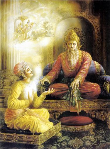 Sanjaya dans la Bhagavad-gita
