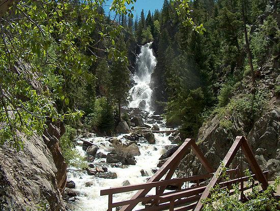 Fish creek falls neighborhood steamboat springs co for Fish creek falls