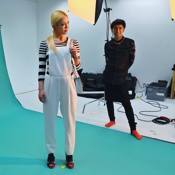 [Pictures] 130606 Hyoyeon for TopShop BTS