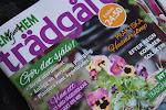 Omslagsfoto & vår reportage från vår trädgård