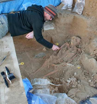 Skeletons found at Cornish chapel dated to Dark Ages
