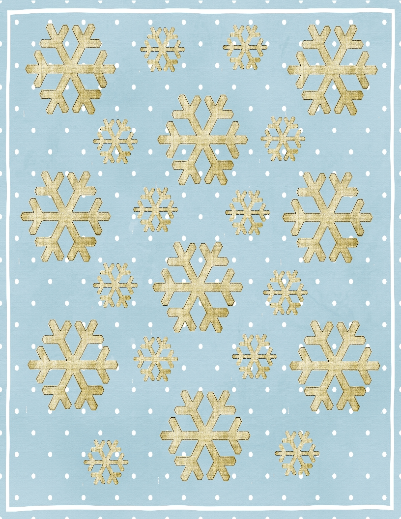 Sweetly Scrapped Free Printable Christmas Gift Wrap