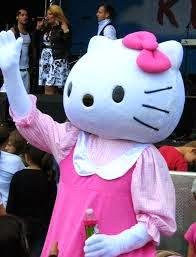 Hello Kitty ditangkap kerana mabuk?