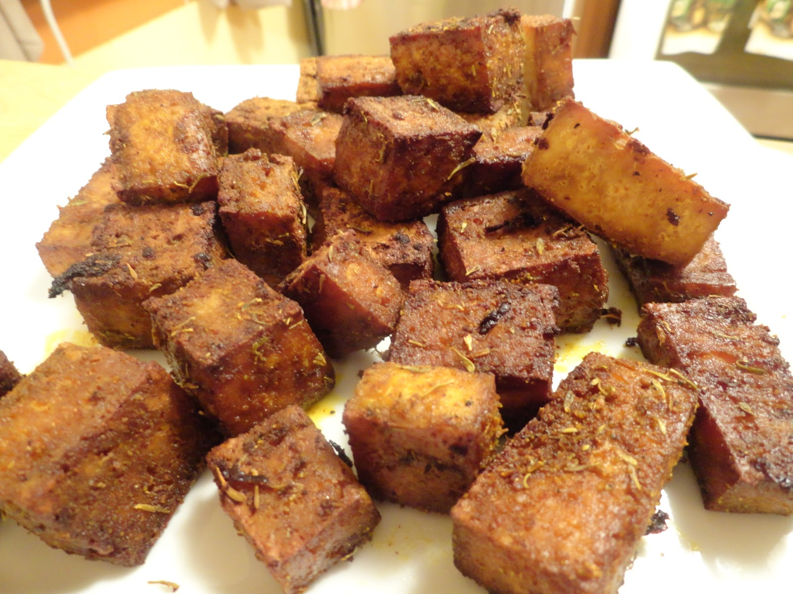 "The ""V"" Word: Baked Tofu"