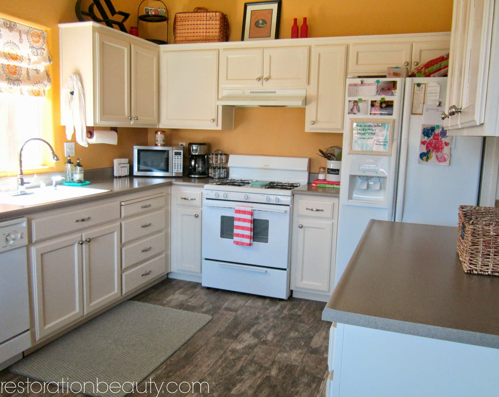 Restoration Beauty Creating A Bright Colorful Kitchen