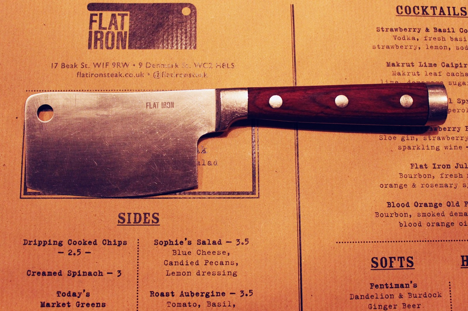 Mini Cleaver at Flat Iron, Soho - by Art Style Love