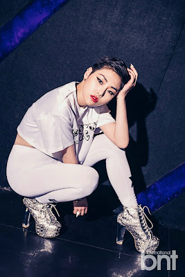 Cheetah - bnt International May 2015 Unpretty Rapstar