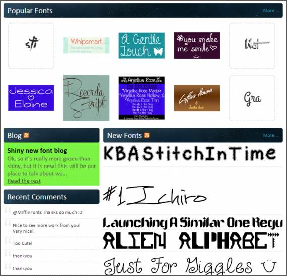 Fontspace. Las mejores fuentes tipográficas, gratis