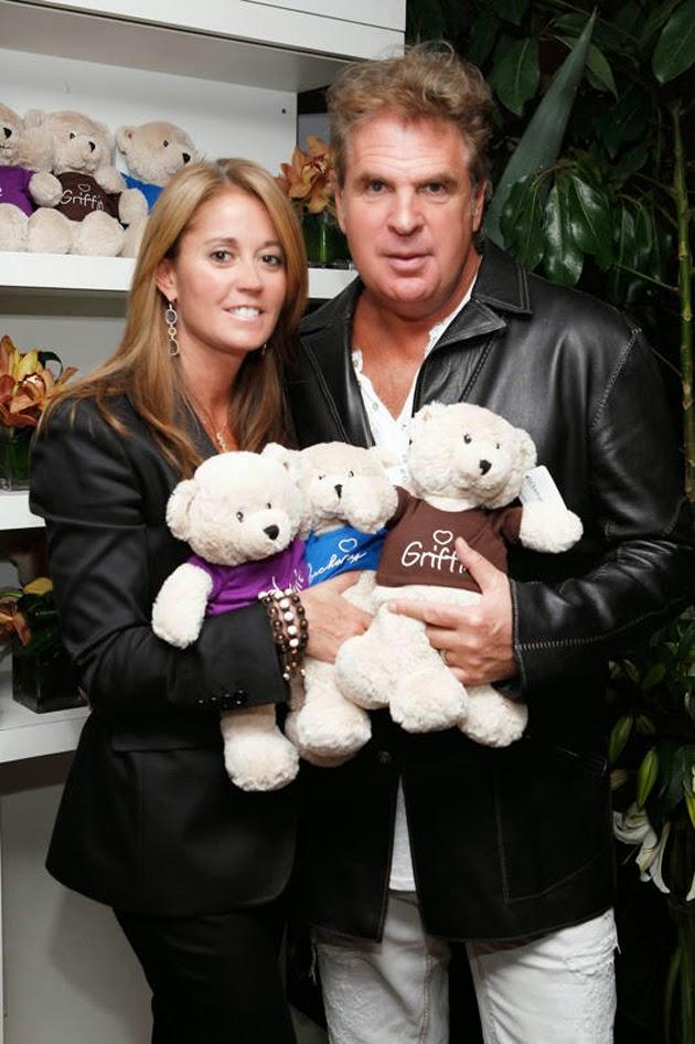 Bruce Makowsky y su esposa Kathy Van Zeeland