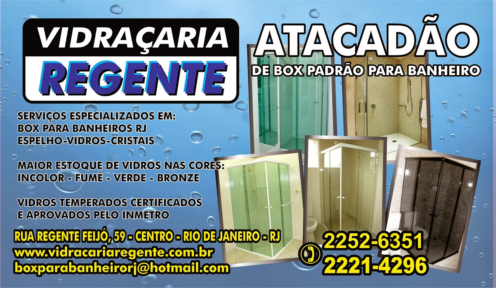 #BAB111 NO RIO DE JANEIRO: Box Blindex Para Banheiros No Flamengo Janelas  364 Janelas De Vidro Temperado Usado