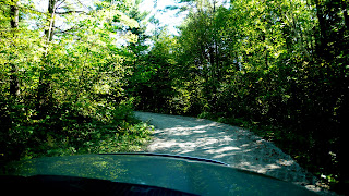 Back country road in the Kawarth Lakes District, Ontario