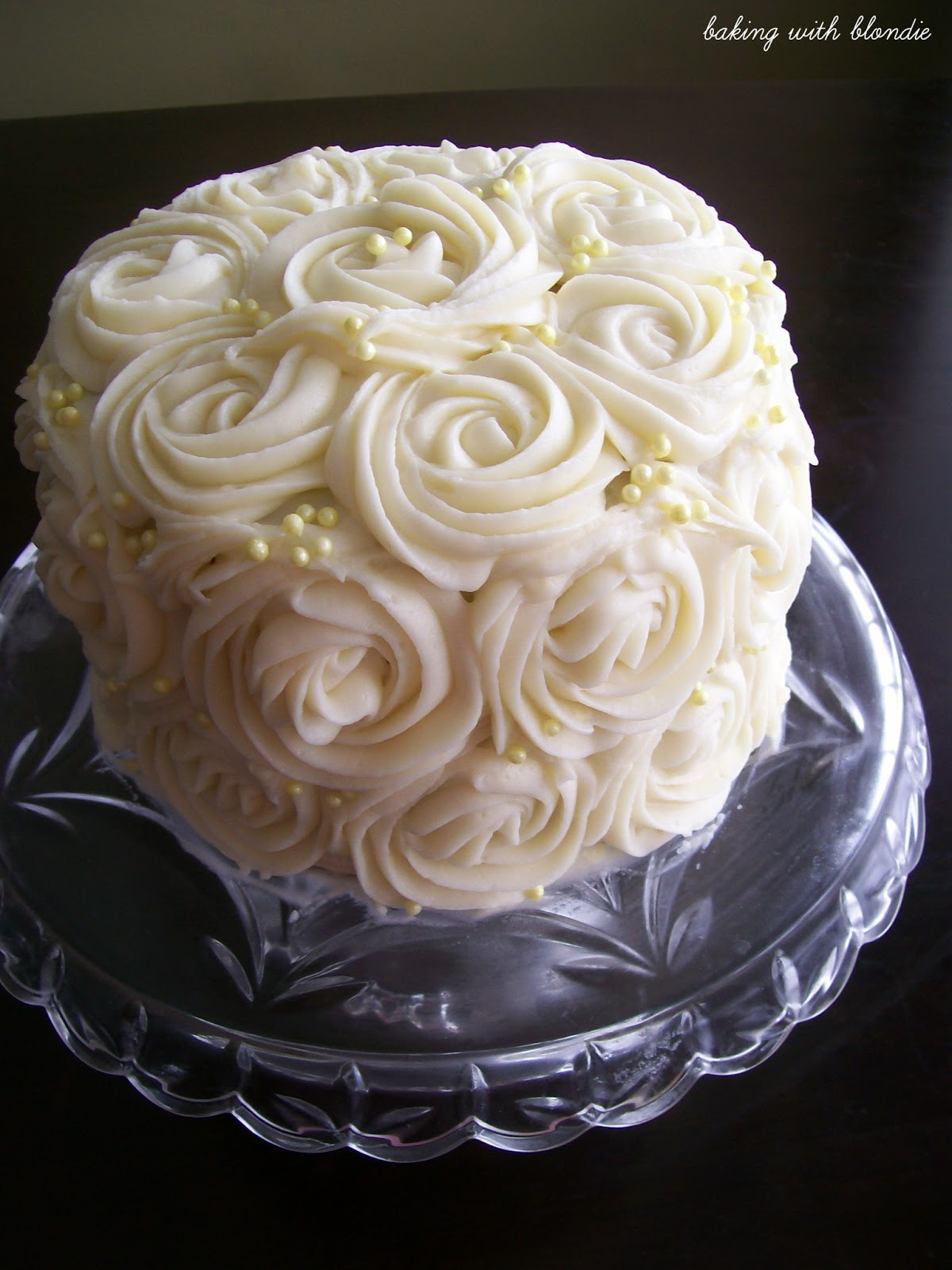 White Cream Cheese Frosting For Wedding Cakes