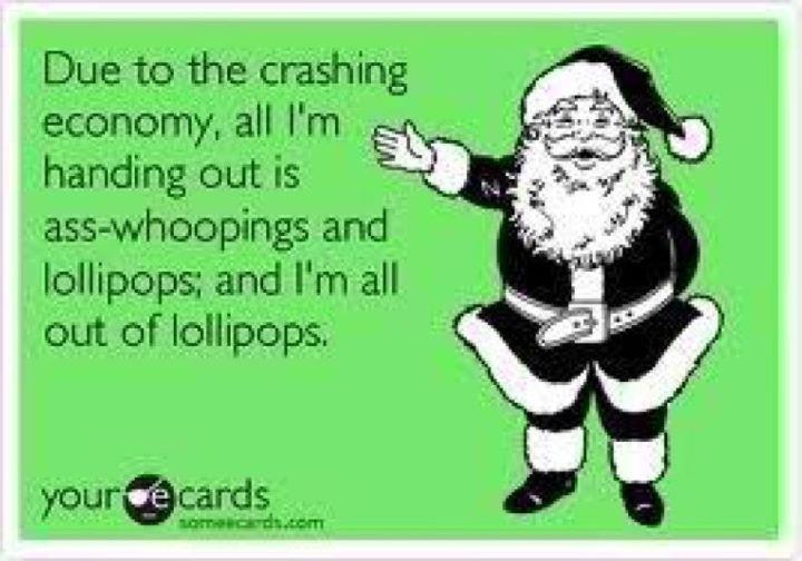 Greeting adult card christmas