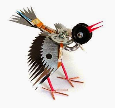 Recycled art project ideas