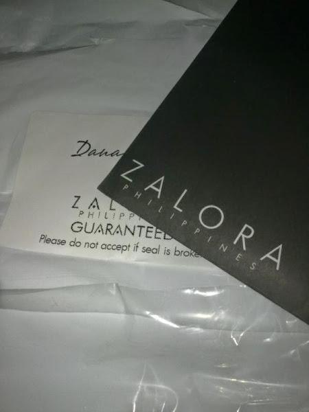 dada's blog shopping - zalora ph package