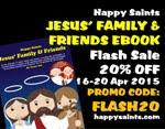 Flash Sale! 20% Off Jesus Family & Friends eBook!
