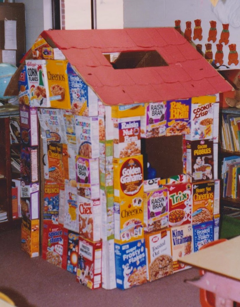 & Ms. Nancyu0027s Nook : Cereal Box House Learning Center Aboutintivar.Com