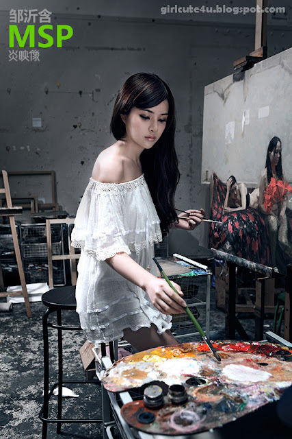 5 Zou Yi MSP Star program with Painted Skin-very cute asian girl-girlcute4u.blogspot.com