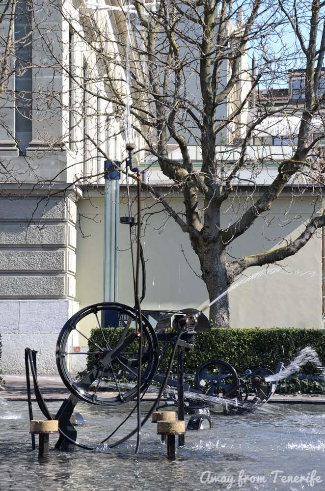 Basel Jean Tinguely fountain
