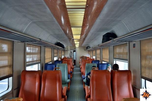 In treno da Fes a Meknes