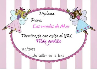 Diploma SAL Tilda gordita