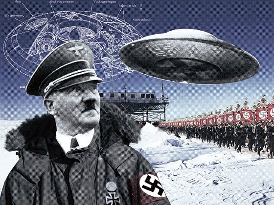Antarctica Nazi Underground Base Found On Google Earth In New ...