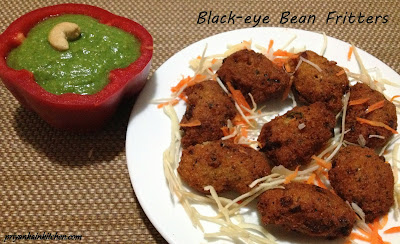 Black Eye Bean Fritters