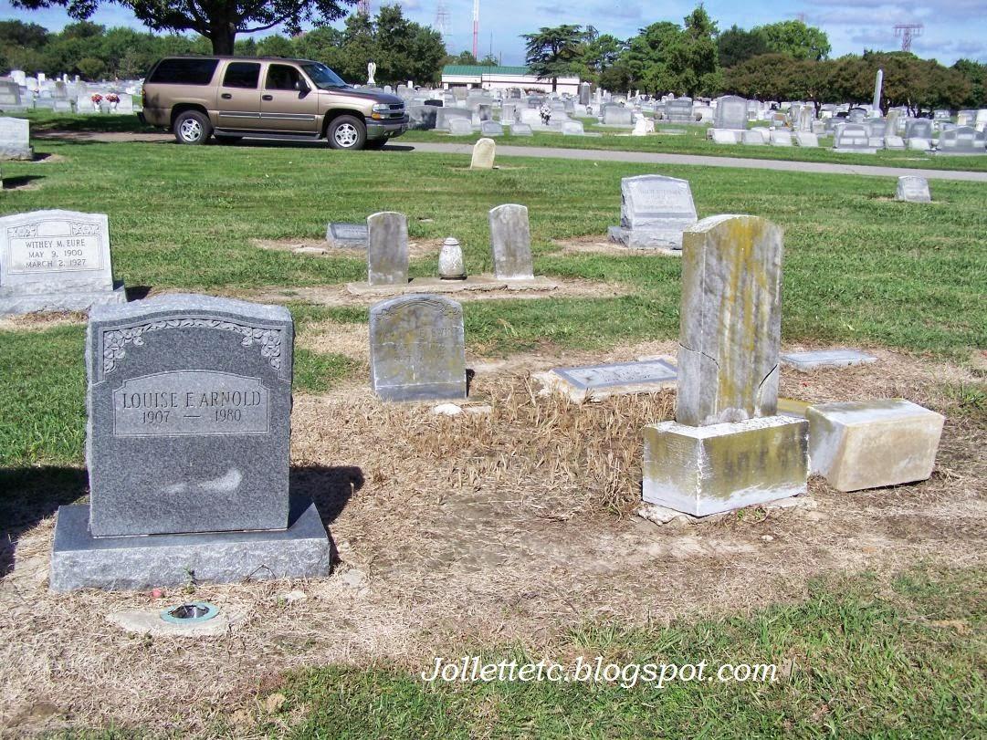 Julia Slade at Riverside Memorial Park, Norfolk, VA   http://jollettetc.blogspot.com