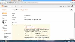 How Setup 1and1 Custom Domain for Blogger 4