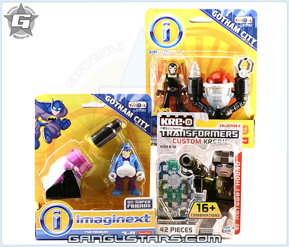 Bane penquin dc comics Fisher price Super Friends Batman Toys R Us imaginext イマジネックスト アメコミ