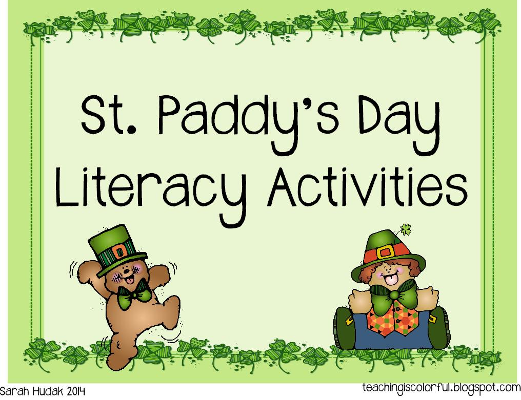 http://www.teacherspayteachers.com/Product/St-Paddys-Literacy-Centers-1152910