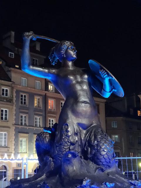 Ledowa iluminacja Rynku Starego Miasta