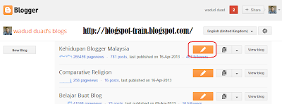 How To Make A New Article On Blogspot 2013