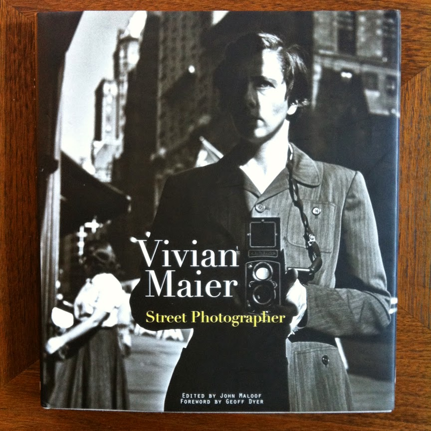 http://www.amazon.com/Vivian-Maier-Street-Photographer/dp/1576875776/ref=sr_1_1?ie=UTF8&qid=1396702925&sr=8-1&keywords=viviam+maier
